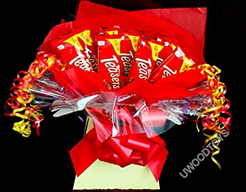 Sweety Trees and Bouquets ~ Malt Teaser (or Malteaser) Bar Display ~ Birthday ~ Wedding ~ Gift