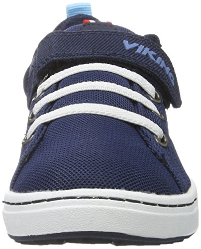 Viking Frogner, Chaussures Multisport Outdoor mixte enfant Blau (Navy/White)