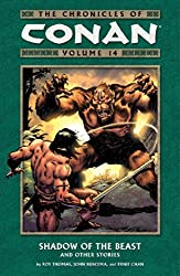 The Chronicles of Conan, Vol. 14: Shadow of the Beast and Other Stories by Roy Thomas (2008-03-18)