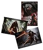 Exklusives Star Wars 7 Erwachen der Macht 3er Posterset Kylo Ren und Stormtroopers Erste Ordnung + Geschenkverpackung. Verschenkfertig!