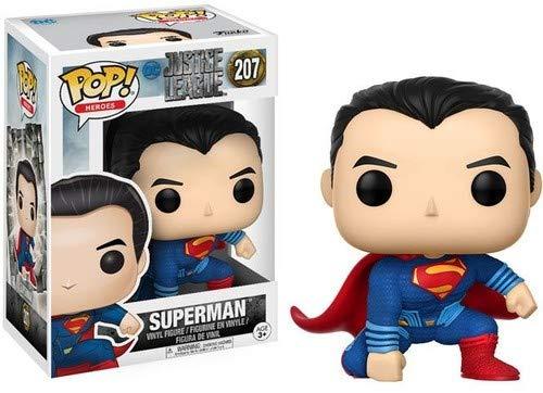 Superman Liga de la Justicia Funko Pop Vinilo 9 cm minifigure