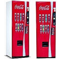 Pegatinas 3D Vinilo para Frigorifico Máquina expendedora Cocacola | Varias Medidas 185x60cm | Adhesivo Resistente y