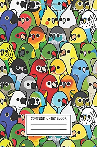 Notebook: Bird Squad Classic Too Many Birds , Journal for Writing, Size 6' x 9', 164 Pages