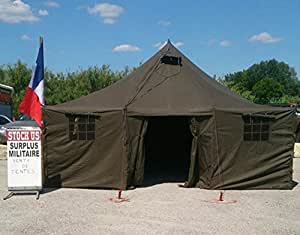 Miltec Sturm - Tente militaire 6m x 5 m neuve surplus militaire