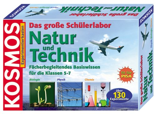 KOSMOS 633011 - Experimentierkasten: Das groe Schlerlabor, Natur und Technik