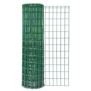 GAH-Alberts 604868 Schweißgitter Fix-Clip Pro®, grün RAL 6073, 1500 mm Höhe, 25 m Rolle, Drahtstärke: 2,2 / 2,2 mm, Maschenweite: 50 x 100 mm