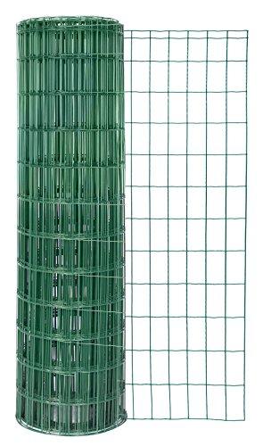 GAH-Alberts 604837 Schweißgitter Fix-Clip Pro®, grün RAL 6073, 810 mm Höhe, 25 m Rolle, Drahtstärke: 2,2 / 2,2 mm, Maschenweite: 50 x 100 mm -