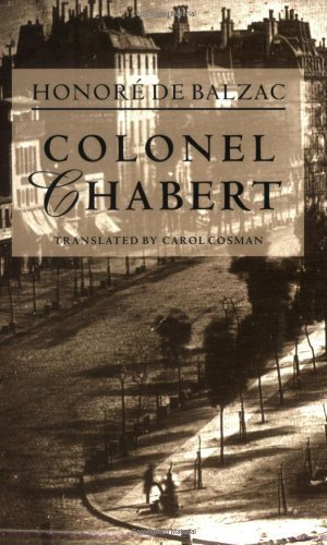 Colonel Chabert by Honor??? de Balzac, Carol Cosman (1997) Paperback
