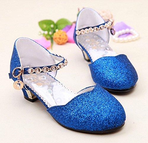 Wuyulunbi@ Tacchi Alti vestono scarpe scarpe Scarpe da danza Blue