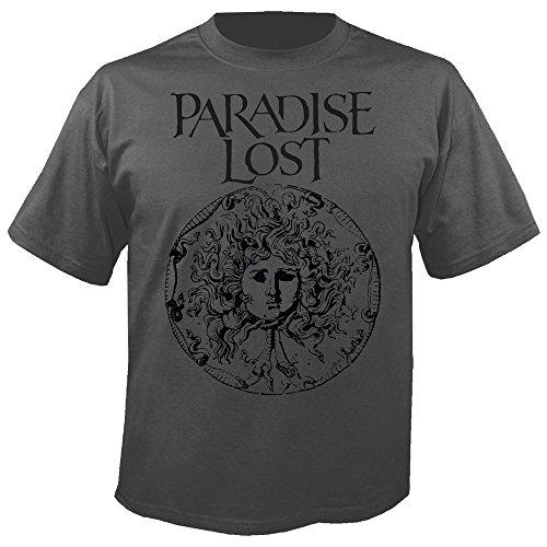 PARADISE LOST - Medusa Crest - Grey - T-Shirt Größe S