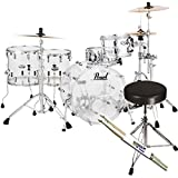 Crb 22 x 16 crystal beat bass drum (ultra clear)