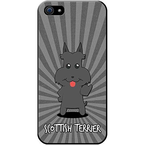 Scottish Terrier, Scottie, Aberdeen Terrier Hartschalenhülle Telefonhülle zum Aufstecken für Apple iPhone 5S / 5 -