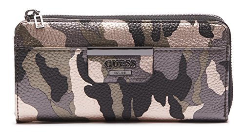 GUESS - Geldbörse BOBBI SLG Slim Zip Wallet camouflage, MC642252-CMO (Slim Zip Wallet)