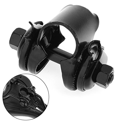 origlam schwarz Fahrrad Sattel Sitz Bolt Sattelstütze Post Klemme Halterung 22,2mm -