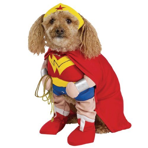 Wonder Woman Pet Costume, Medium