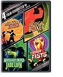 4 Film Favorites: Martial Arts (Militant Eagle, Prodigal Boxer, Moonlight Sword and Jade Lion, Bloody Fist)