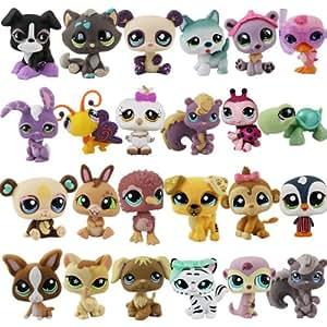 Littlest Pet Shop Lps 3cm 6cm Mini Figurs Set With 18