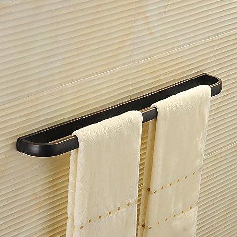 Semplice nero oro antico bagno hardware bagno accessori in Ottone