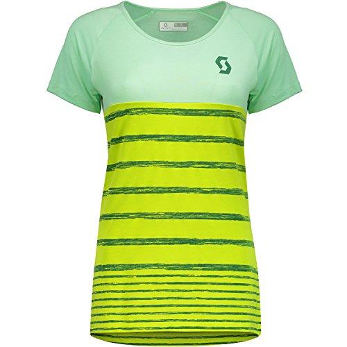 Scott Trail 60 DRI Damen Fahrrad T-Shirt Trikot kurz gelb/grün 2017: Größe: XL (44/46) (T-shirt Gelb Fahrrad)