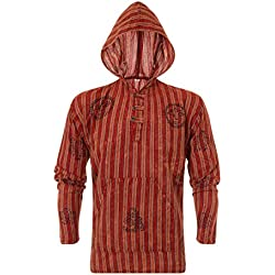 ThaiUK - Sudadera con capucha - para hombre Red 1 S