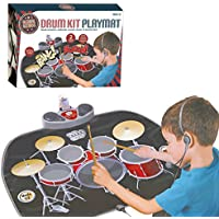 Global Gizmos Childs Drum Kit Playmat with MP3