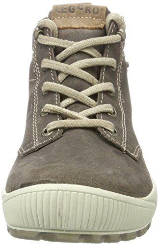 Legero Taro, Sneaker a Collo Alto Donna Grigio (Stone)