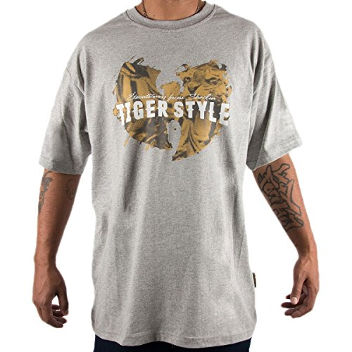 Wu Wear - Wu Tang Clan - Tiger Style T-Shirt - Wu-Tang Clan Grey