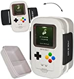 alles-meine.de GmbH XL Lunchbox / Brotdose / Bento Box -  Spielekonsole - Spiel Game Box  - auslaufsicher - mit extra Einsatz / mehrere Fächer - Brotbüchse Küche Essen - für Ki..