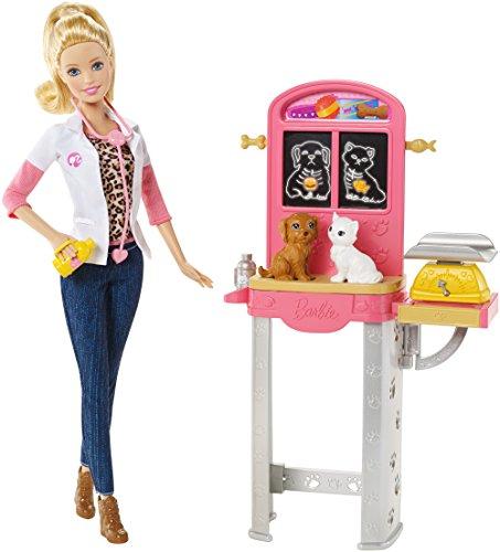 Preisvergleich Produktbild Mattel Barbie CCP70 - Ich wäre gern Tierärztin Spielset