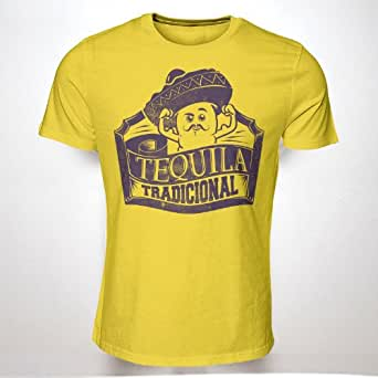 TEQUILA TRADITIONAL MEXICAN(GREY)(XXL) TSHIRT HIPSTER SWAG MENS