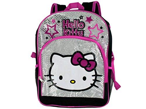 bulk buys Schwarz Pink Hello Kitty Stars Rucksack-Pack von 2
