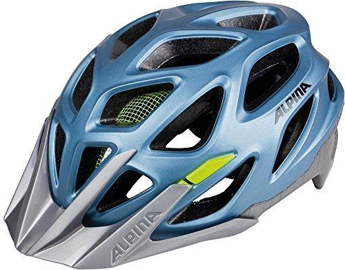 Alpina Mythos 3.0 LE Fahrradhelm, Blue Metallic-Neon, 57-62 cm