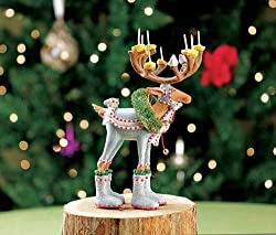 Patience Brewster Mini Dashaway Dasher Reindeer Ornament Christmas Holiday Tree Decoration By Patience Brewster