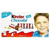 Kinder Bâtonnets de Chocolat Fourrés au Lait 200 g
