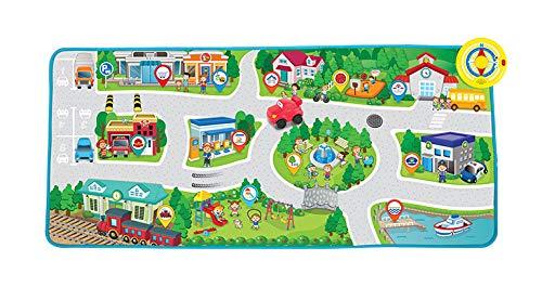 WinFun Juguete con Actividades para Bebes, Color Rojo (CPA Toy Group 7301288)