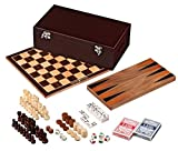 Philos 3097 - Holz-Spielesammlung 6 in Box, Holz