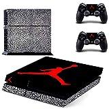 SJYMKYC Autocollant Michael Jordan PS4 Skin pour Vinyle Autocollant pour Console Sony Playstation 4 Et 2 Contrôleurs PS4