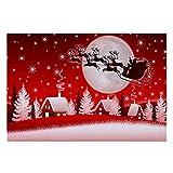 XZANTE Weihnachten Boden Eingangstuer Bad Matte Innen Badewanne Teppich Fu?matten Dekor