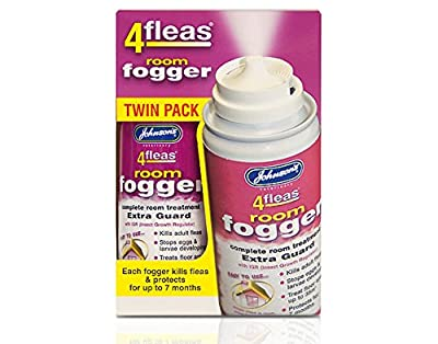 3 X Johnson's Veterinary Flea Killer Bomb Room Fogger Multi pack from Johnson's
