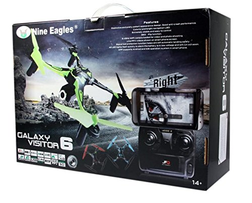 Quadri MASF15 Galaxy Visitor 6 (MODE2) B LUE w/WIFI CAMERA - 6