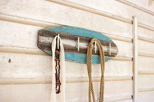 Perchero de madera Tabla de surf con Cleat Perchas