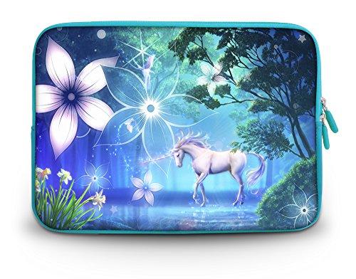 'Corlfulcase & # 174; 2014nuovo 29,5cm 30,7cm 31cm pollici borsa da trasporto/custodia laptop notebook per Samsung Chromebook/Samsung Galaxy Tab Pro 12.2/Dell Latitude E6230XT2XPS Duo/Asus B23/HP 4230S 2560P/Toshiba U920T/Intel Letexo-unicorno SC12-62670