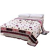 Floral Flamingo Soft fluffy Blankets Full Size - Lightweight Microfiber Plush Velvet Blanket Sofa Blanket Travel Blanket Bedspread Cover Throw Blanket Easy Care (Stars and moon, 120*200cm)
