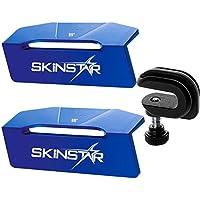 SkinStar File Guide Race Set Alu-Kantenwinkel Feilenwinkel 88°-89° mit Feilenklammer