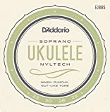 D'Addario Cordes Nyltech pour ukulele D'Addario EJ88S, Soprano