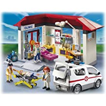 Playmobil 5012 - Jeu de construction - Clinique Ambulance Médecin (Clinic)