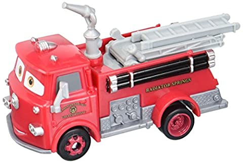 Disne Pixar Cars - Wheel Action Drivers - Red the Fire Engine