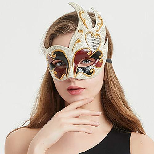 Fanfan Lace Masquerade Maske Halloween Eyemask Venezianische Masken Sexy Lady Girl Spitze Augenmaske Für Halloween Kostüm Ball Carnival Party, Schwarz,2