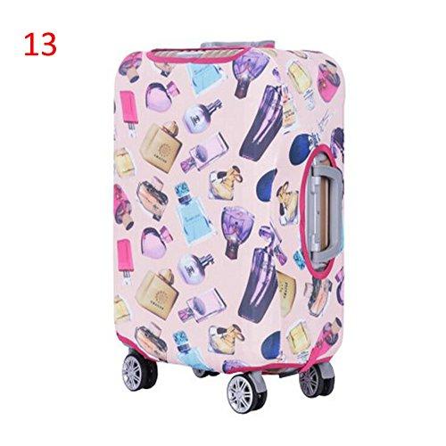 Zhuhaixmy Neu Elastisch Dustproof Gepäck Koffer Trolley Schutz Tasche Abdeckung Anti-Kratzer #13