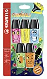 STABILO BOSS MINI Funnimals - Textmarker - 5er Set